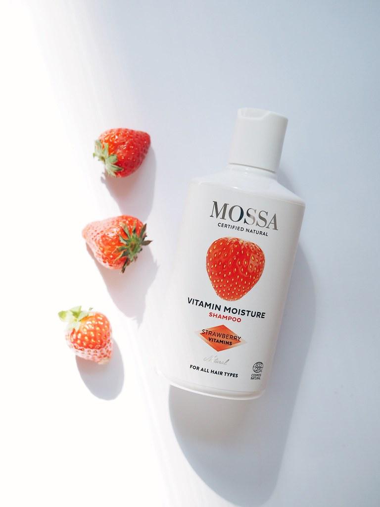 Mossa mansikkashampoo