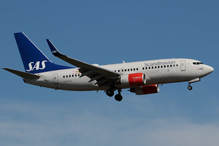 "SAS Scandinavian Airlines Boeing 737-705 LN-TUJ 180801 OSL | by Anders ""Bromma"" Nilsson"