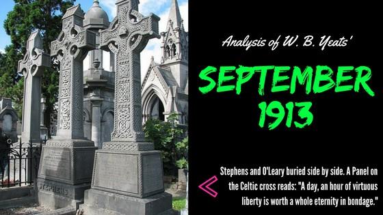 September 1913 - W. b. Yeats