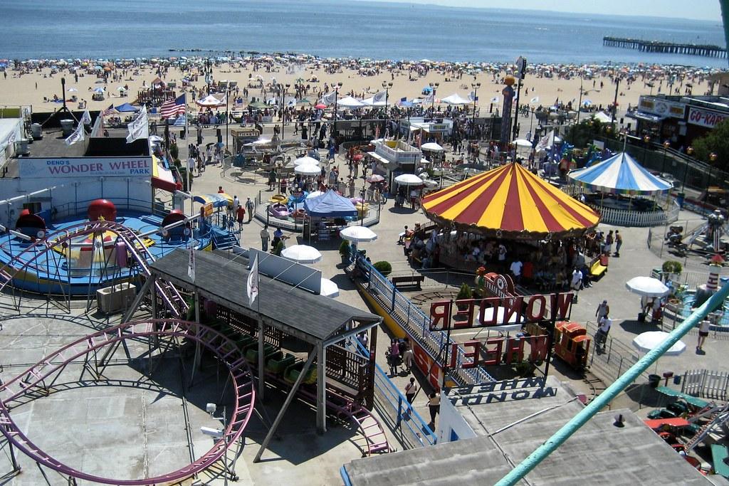 Brooklyn - Coney Island: View from Wonder Wheel   The ...