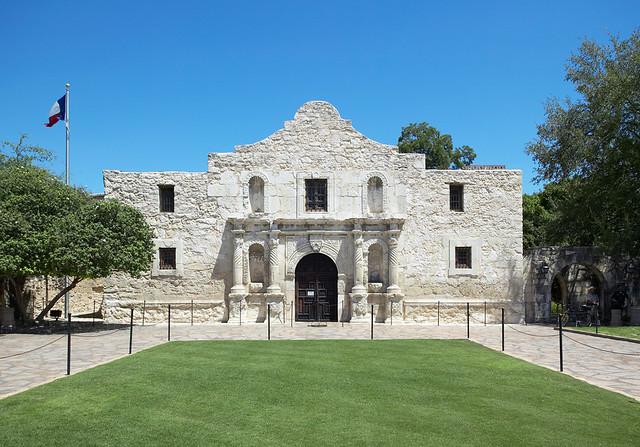 The Alamo Mission San Antonio De Valero I Was