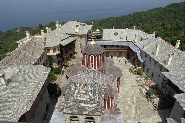 Resultado de imagen de Monasterio de Karakallou