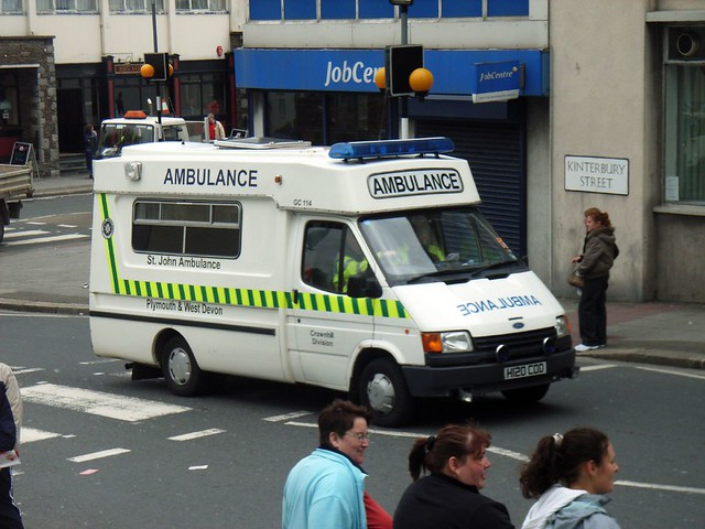 St Johns H120cod St Johns Ambulance On Lord Mayors Day