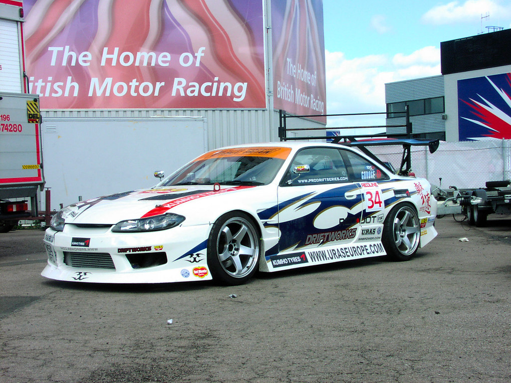 Drifting Cars: This Is One Of The Drift Cars At Trax