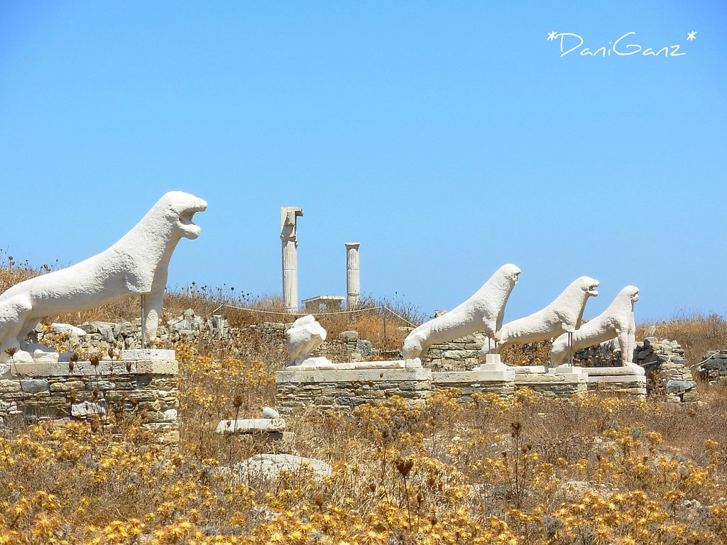 Delos - The Terrace of the Lions - La Via dei Leoni  Flickr