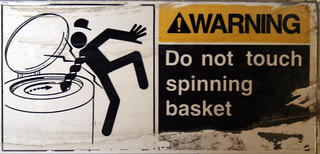 Do Not Touch Spinning Basket | by Bill D'Agostino