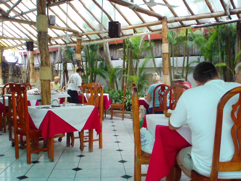 La Mission Restaurant Cozumel Mexico