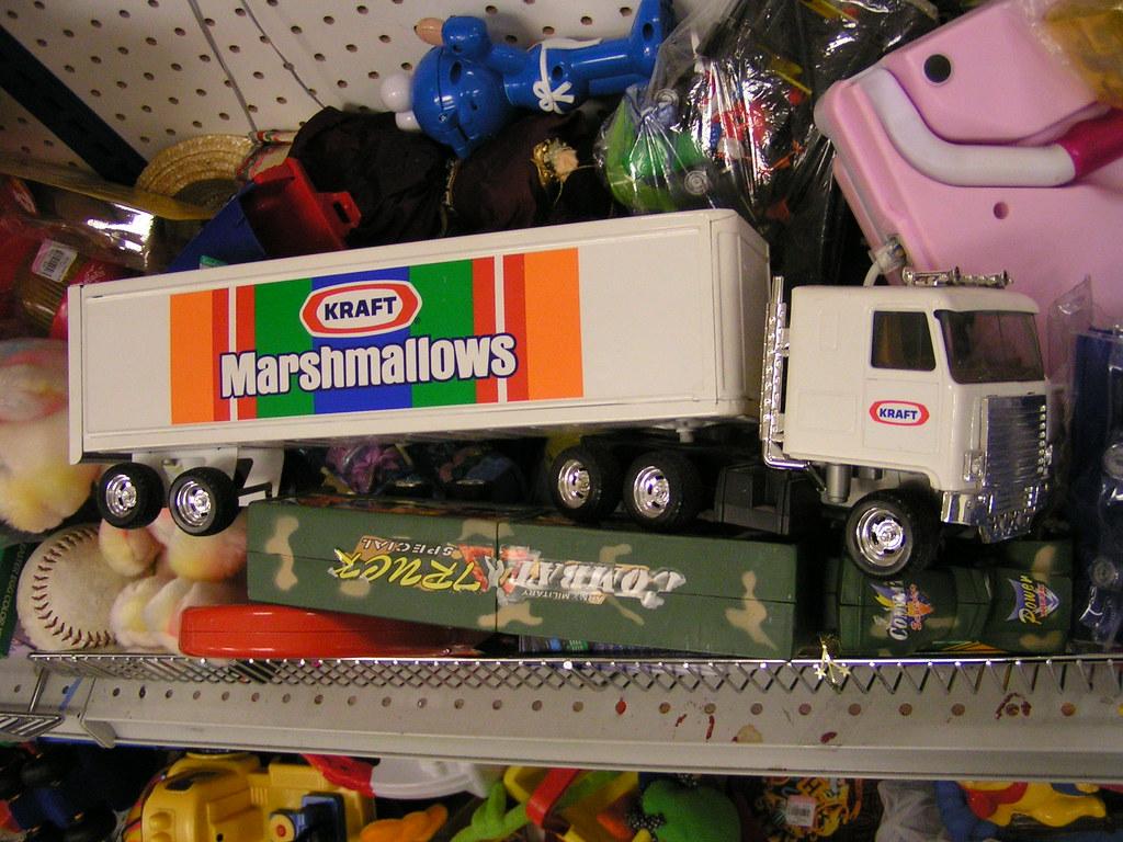 toy kraft marshmallows truck goodwill ballard seattle flickr