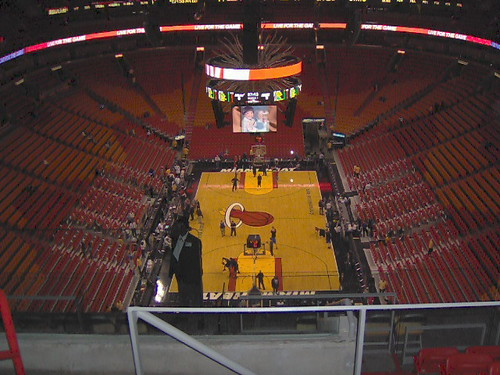 American Airlines Arena Interior 1 Interior Shot Of An