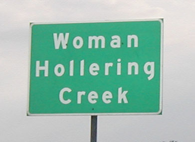 """woman hollering creek Woman hollering creek """"woman hollering creek"""" is the title story of a book of short stories written by sandra cisneros in 1991 each story in the book deals with women's dreams, aspiration, disappointment and realities."""