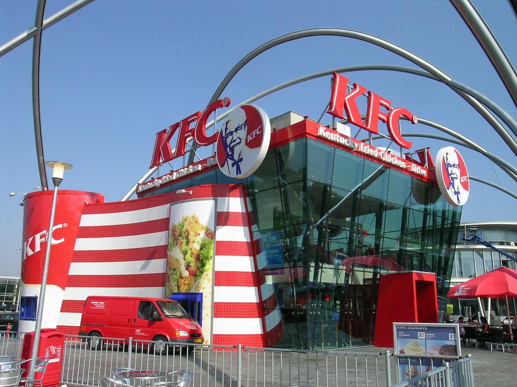 Holland And Holland >> KFC Foodstrip Amsterdam (Netherlands) | KFC opened it's ...