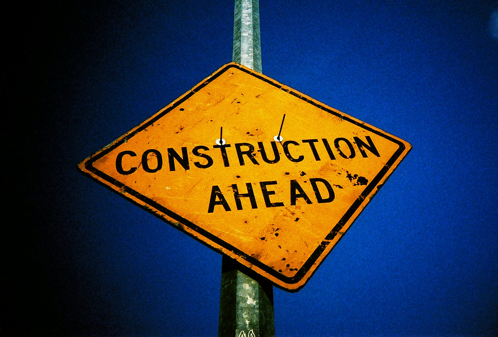 Image result for construction ahead