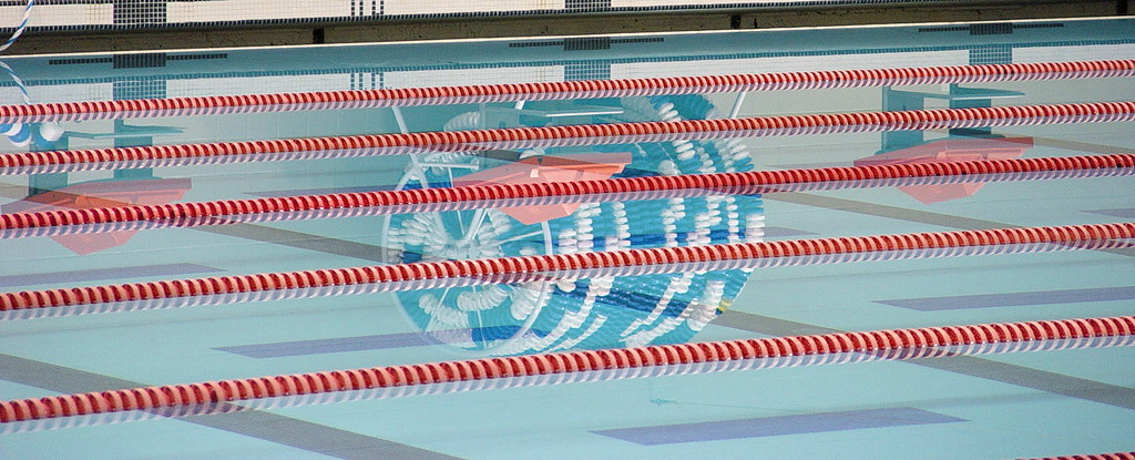 Lane Rope Reflection At Oak Point Pool Plano Tx Matt Hollingsworth Flickr