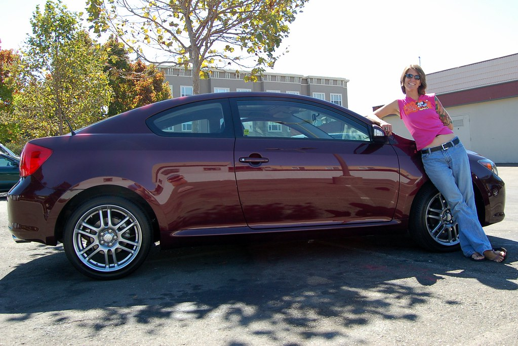 Black Cherry Pearl | Kellie & her brand new 2007 Scion tC ...