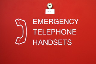 emergency telephone handsets | by xgray