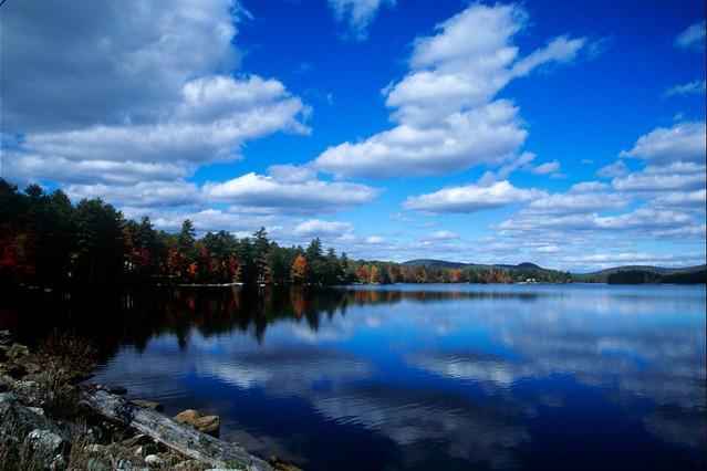 Moose Pond, Bridgton, ...