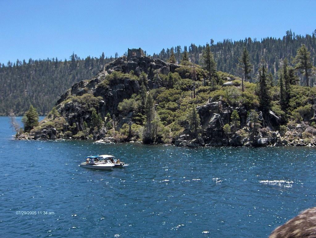 Fannette Island Tea House Island