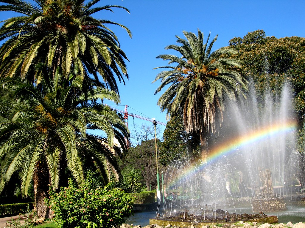 Palermo giardino inglese somewhere over the rainbow skiesu flickr