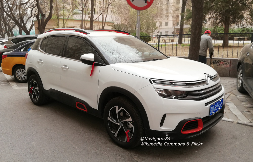Citron C5 Aircross 01 China 2018 03 28 A Citron C5 Aircr Flickr