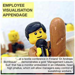 Employee Visualisation Appendage | by followthethings.com