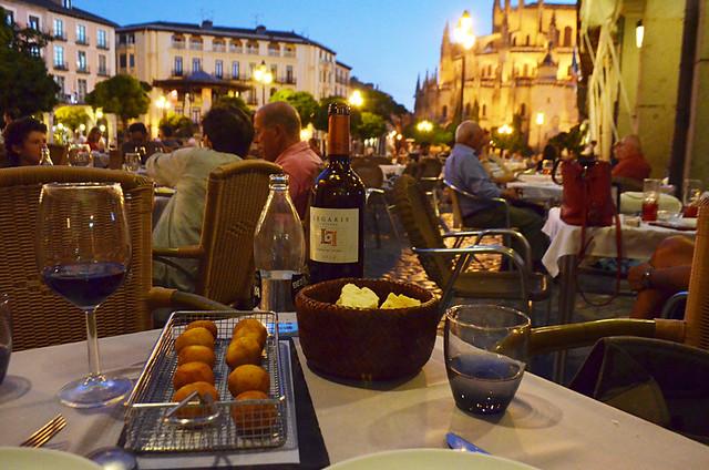 Dinner in Segovia