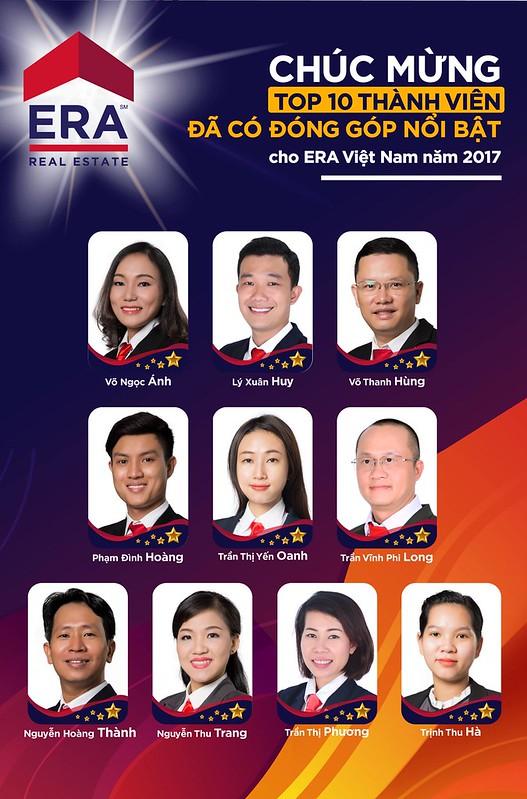 Top 10 các thành viên có đóng góp nổi bật năm 2017