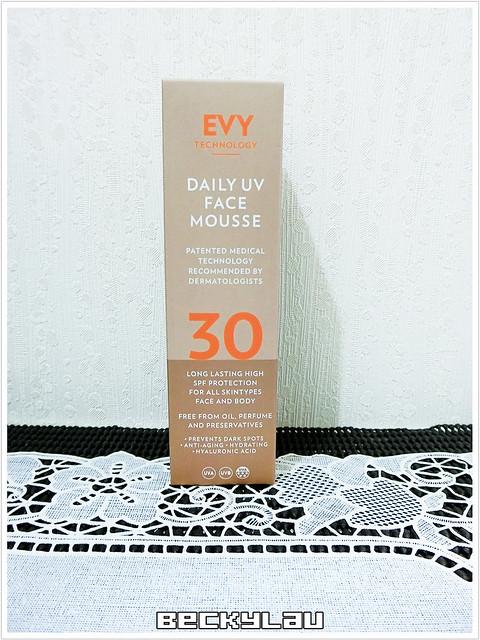 【防曬】做好充足的抗紫外線保護~EVY TECHNOLOGY 新鮮抗污染防曬慕斯 SPF30 ... ...