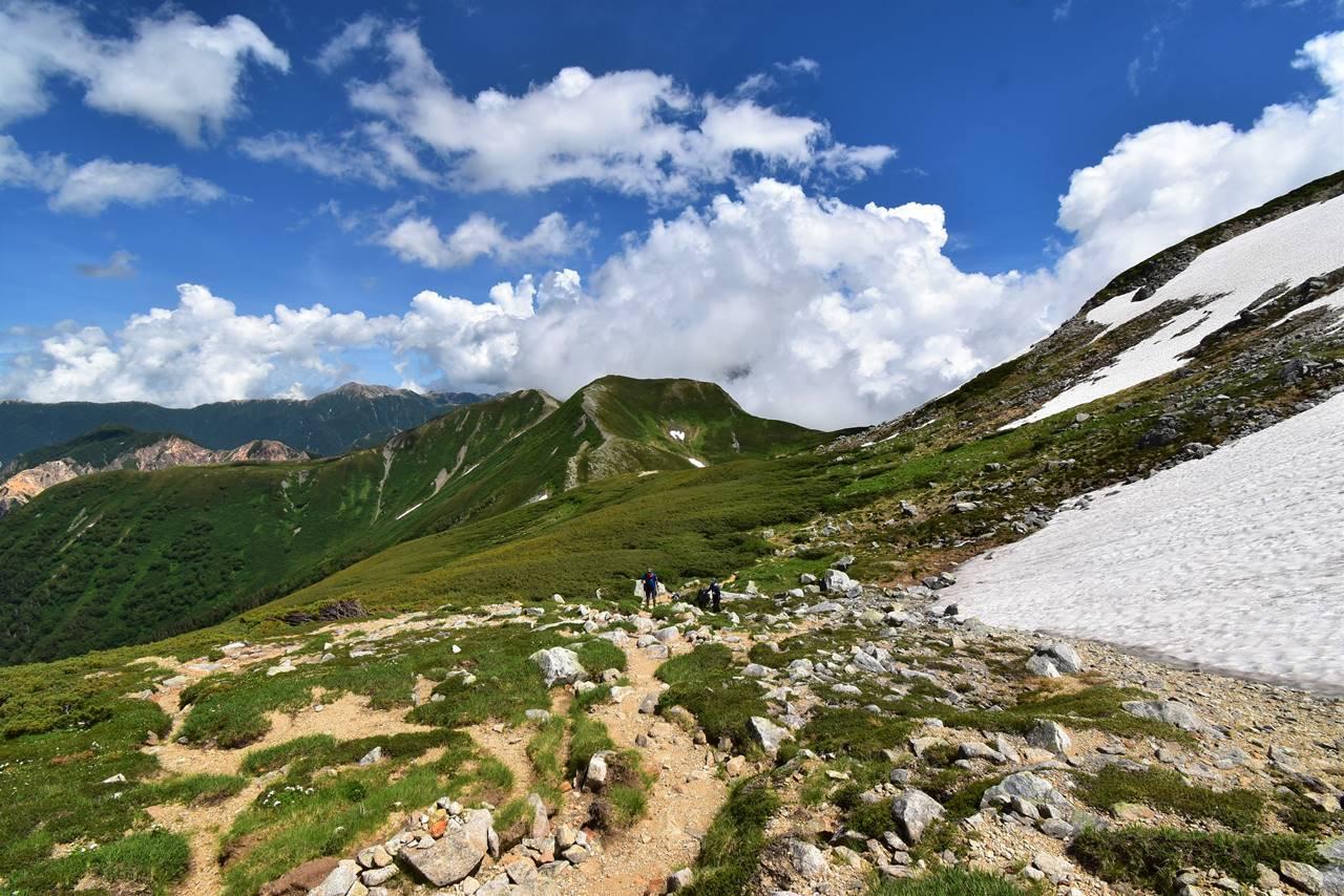 北アルプス・双六岳テント泊登山
