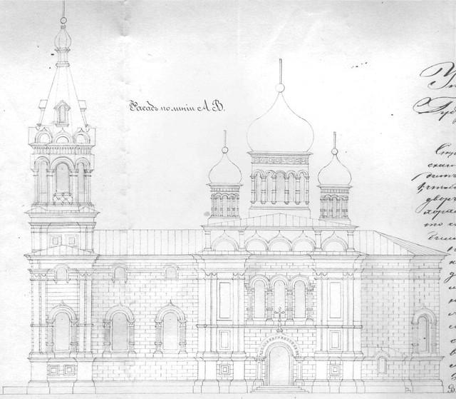 Проект церкви Покрова Пресвятой Богородицы в сл. Маяки