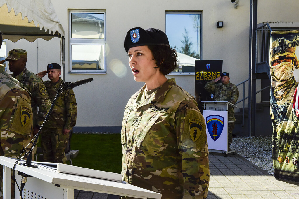 U S Army Europe Welcomes Csm Abernethy Command Sgt