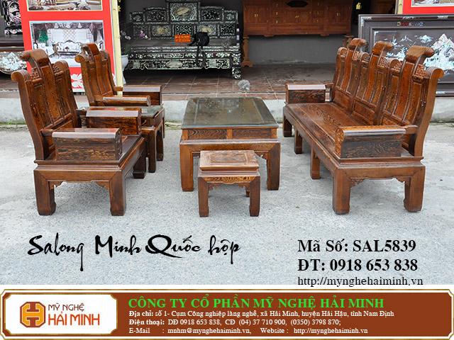 SAL5839a Salong Minh Quoc hop do go my nghe hai minh