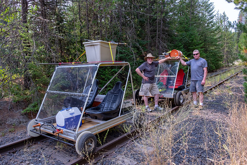 Rail Karting and Panning for Gold in Northern Idaho | by TomCollins