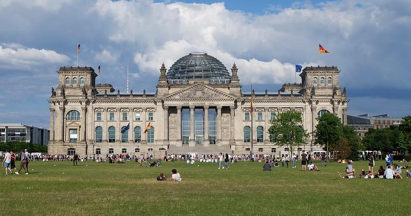 德國國會。攝影:陳文姿