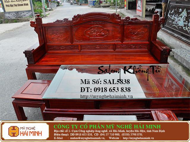 SAL5838i Salong Khong Minh do go my nghe hai minh