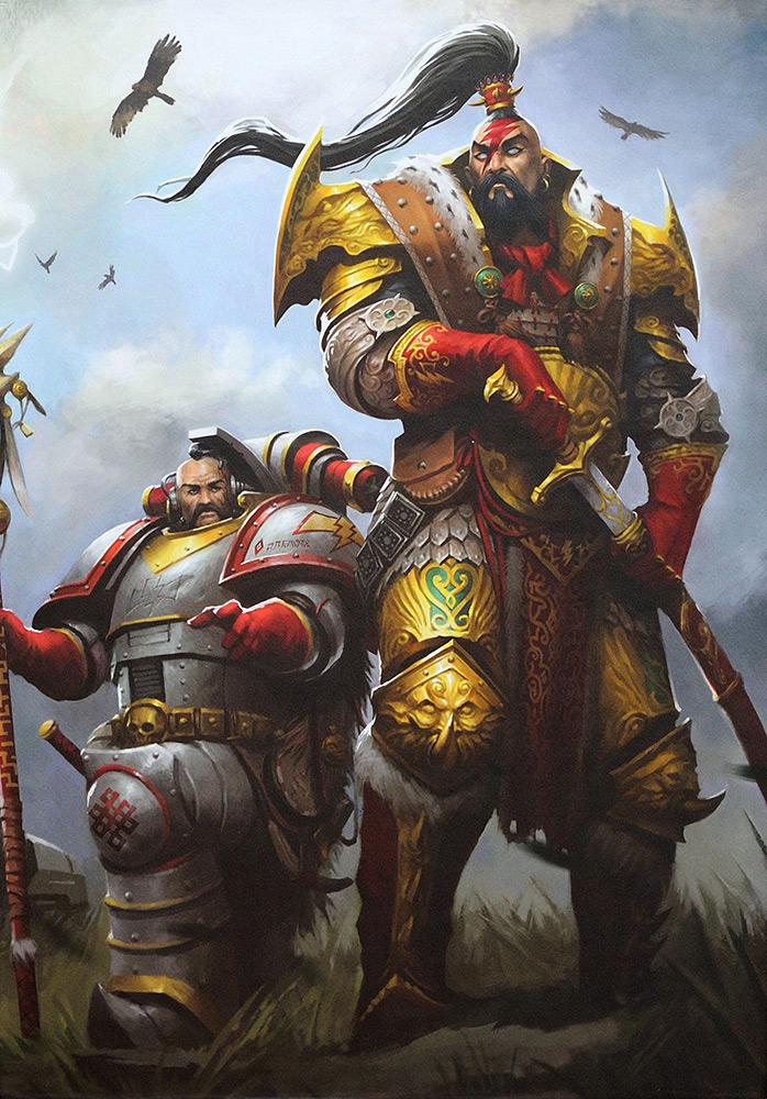 «Джагатай-хан. Боевой ястреб Чогориса» Криса Райта, обложка книги