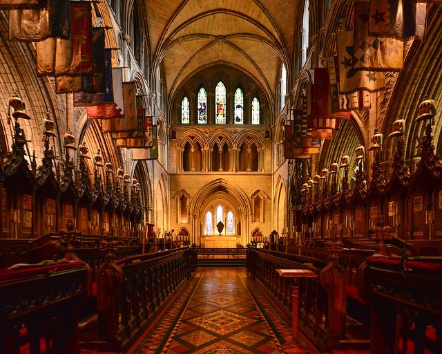 Coro de la iglesia de San Patricio en Dublín