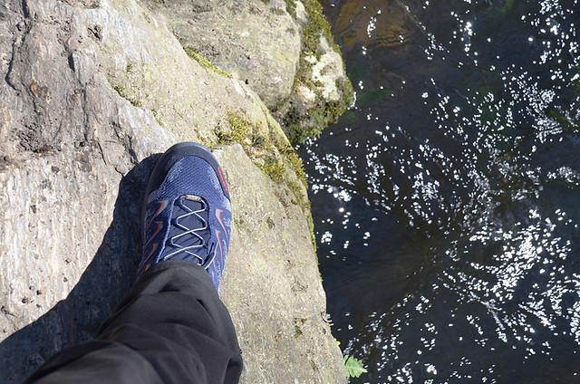 Jack's new boots, Camino de Santiago, Galicia