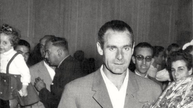 Piero Andreoli, tecnico del Catania anni cinquanta