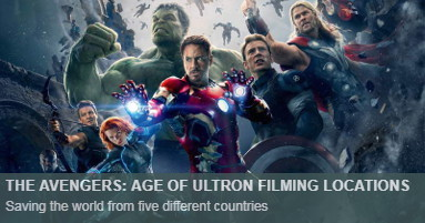 The Avengers Age of Ultron Filming Locations