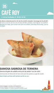 Sitges Tapa a Tapa 2018 - Cafè Roy