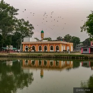 Beautiful Mosque in Niyamatpur, Nogaon, Bangladesh. | by anki_mee