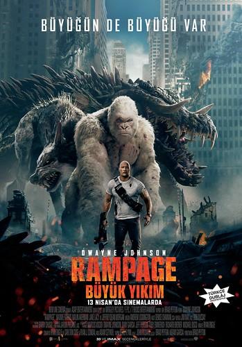 Rampage: Büyük Yıkım - Rampage (2018)