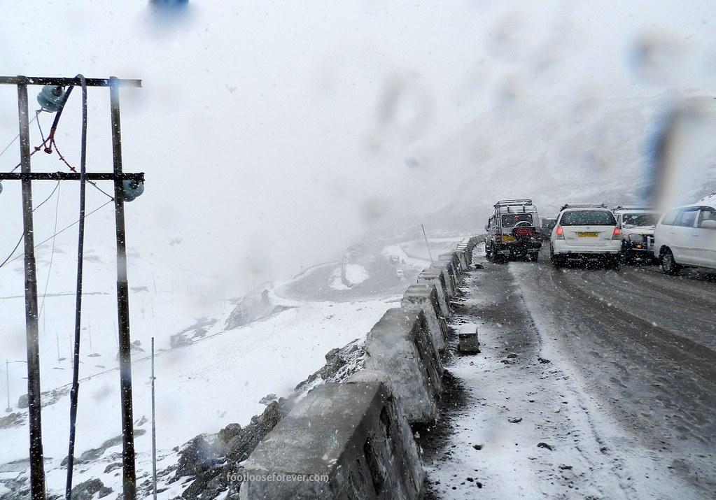 nathla pass, snowfall, sikkim