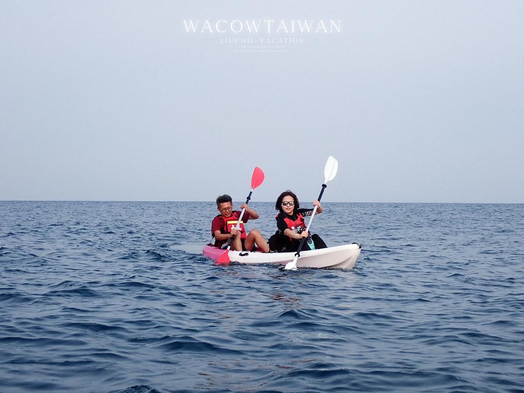 小琉球旅遊獨木舟