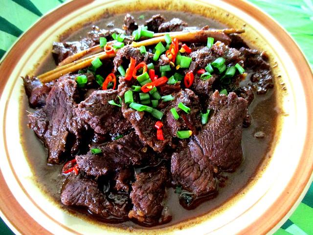 Daging masak hitam 3