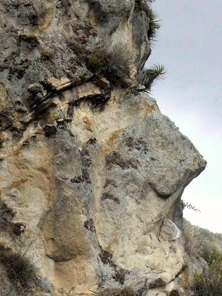 rock facing humanity making us wonder ecuador flickr