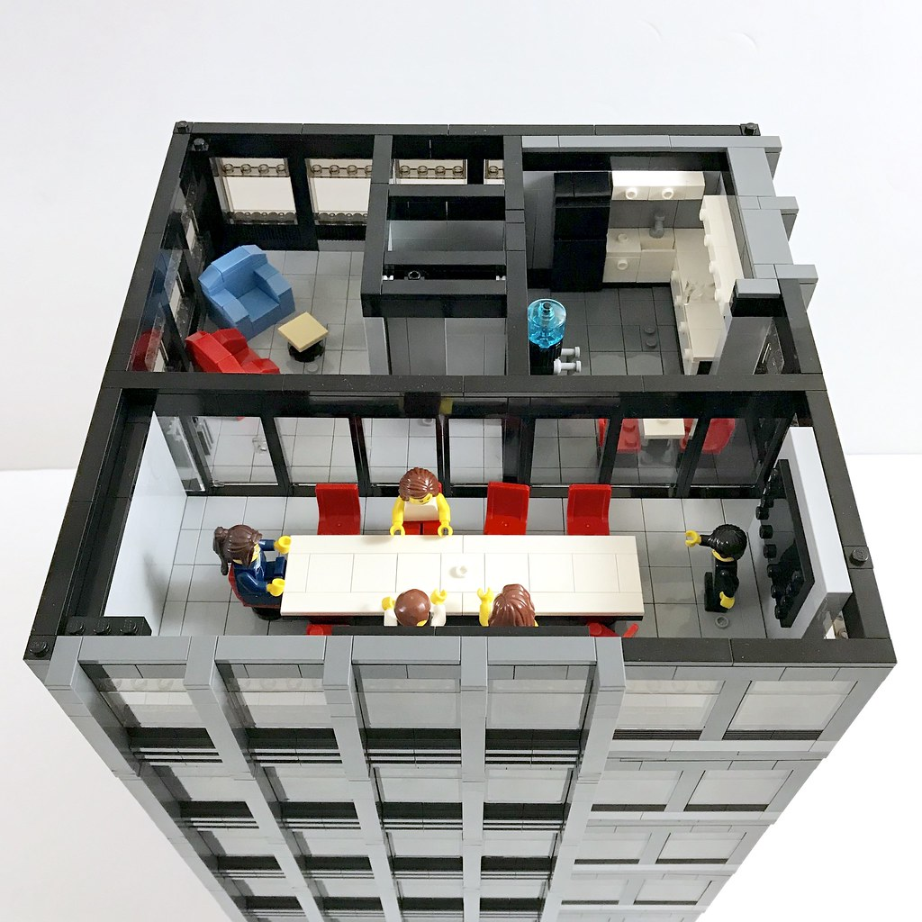 lego corporate office. Corporate Plaza: Office Conference   By Wooootles Lego