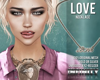 !NFINITY Love Necklace @ The DollHouse Event | by infinity.owner