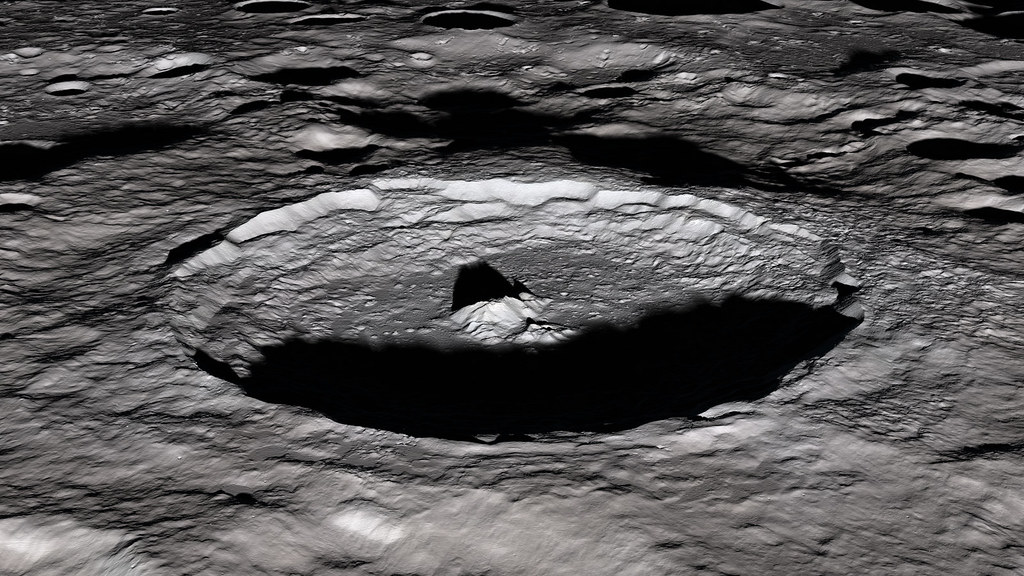 The Moon S Tycho Crater For Scientists Parts Of The