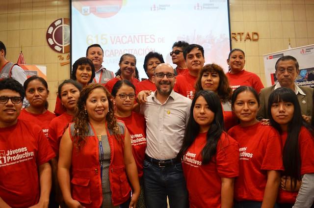 4.5.2018 | 600 vacantes de capacitacion laboral en la region La Libertad